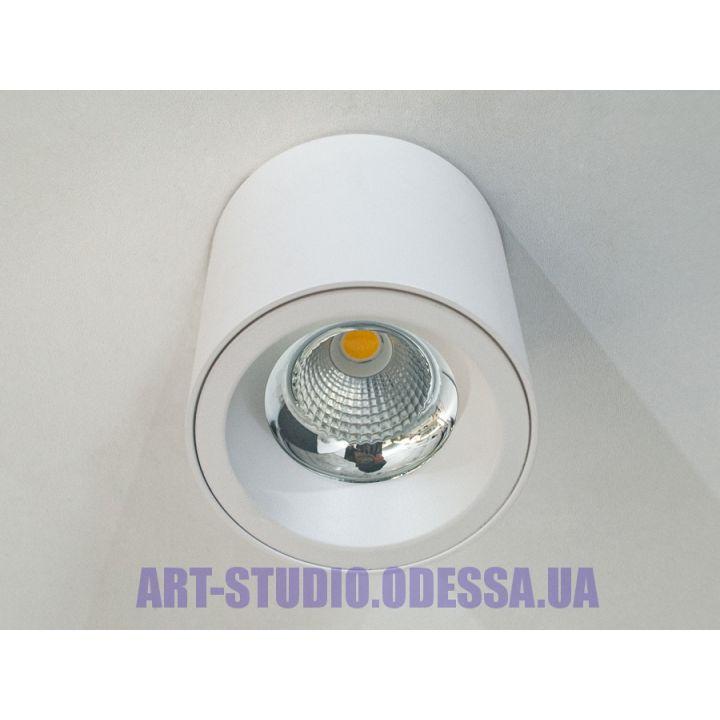 Накладной точечный светильник 149B-WH (белый,черный)