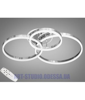 LED-люстра с диммером и RGB подсветкой, 110W 8174/345NEW HR LED RGB dimmer