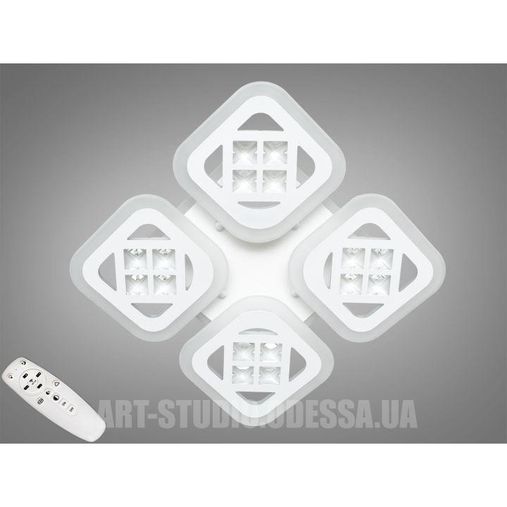Потолочная светодиодная люстра с диммером 90W AS2101/4WH LED 3color dimmer