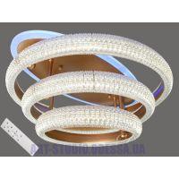 Потолочная светодиодная люстра, 90W MX77015/3G LED 3color dimmer