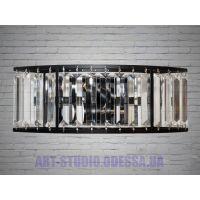 Современный хрустальный настенный светильник 951-1BK