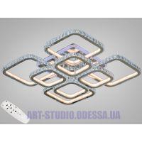 Хрустальная LED-люстра с RGB подсветкой, 300W 8305/4+4HR LED RGB dimmer