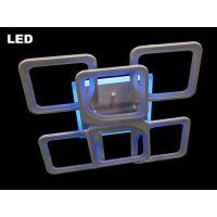 Люстра светодиодная, 165W 8060/4+2WH LED 3color dimmer  (белая,черная,коричневая)