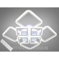 Потолочная LED-люстра с 3d эффектом, 160W MX2720/4+4A WH LED 3color dimmer