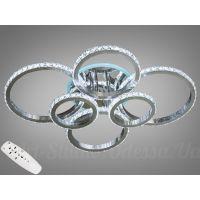 Хрустальная LED-люстра с RGB подсветкой, 125W  8304/6NEW HR