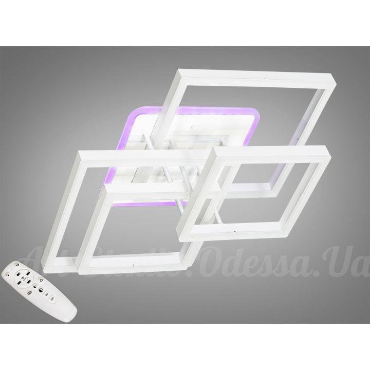 Потолочная светодиодная люстра с диммером 130W  7006WH