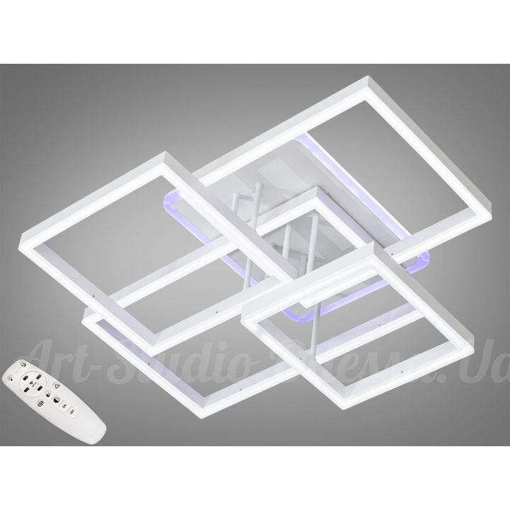 Потолочная светодиодная люстра с диммером 160W  7008WH